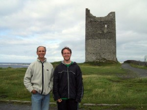 O'Dowd Castle in Easkey, Co. Sligo, Ireland: Summer 2007