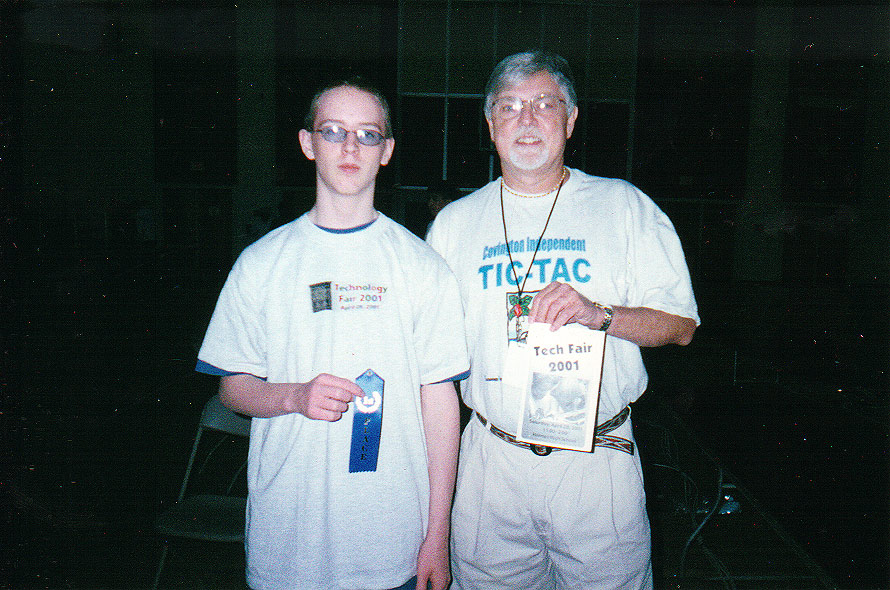 2001 District Tech Fair